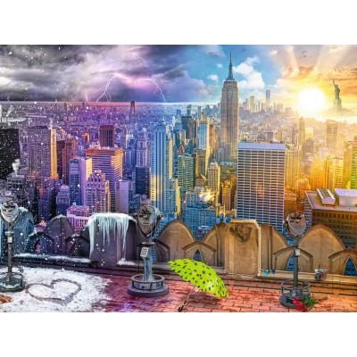 Ravensburger-16008 Les Saisons à New York