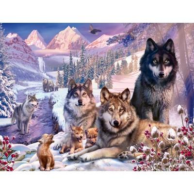 Ravensburger-16012 Loups dans la Neige