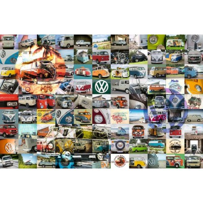 Ravensburger-16018 99 VW Campervan Moments