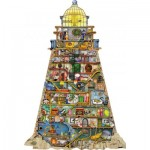 Ravensburger-16098 Colin Thompson - Phare Merveilleux