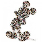 Ravensburger-16099 Puzzle Forme - Mickey