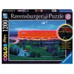 Ravensburger-16187 Star Line Color Collection - Allianz Arena