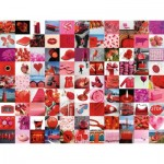 Ravensburger-16215 Beautiful Red Things
