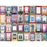 Ravensburger-16217 Collage - Fenêtres