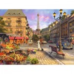 Ravensburger-16309 Paris Vintage