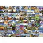 Ravensburger-16319 99 plus beaux endroits du monde
