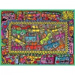 Ravensburger-16356 James Rizzi: We are on our way to your party