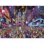 Ravensburger-16423 New Years in Times Square
