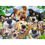 Ravensburger-16425 Selfies Dogs' Delight