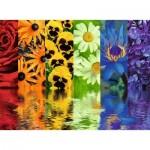 Ravensburger-16446 Reflets Floraux