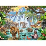 Ravensburger-16461 Cascade dans la Jungle