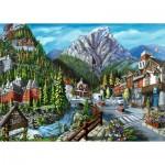 Ravensburger-16481 Bienvenue à Banff