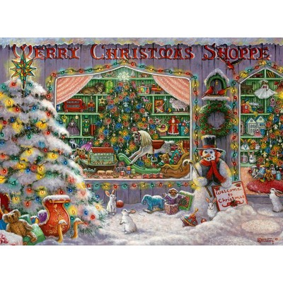 Ravensburger-16534 Merry Christmas Shoppe