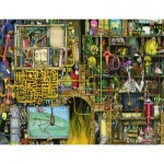 Ravensburger-16642 Colin Thompson - Laboratoire Fou