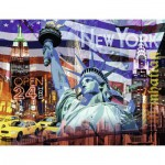 Ravensburger-16687 New York Collage