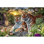 Ravensburger-17072 Tigres Cachés