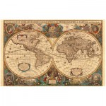 Ravensburger-17411 Mappemonde antique
