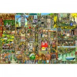 Ravensburger-17430 Colin Thompson : Ville Etrange