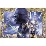 Ravensburger-17431 Star Wars I-VI