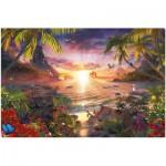 Ravensburger-17824 Paradis au Soleil Couchant