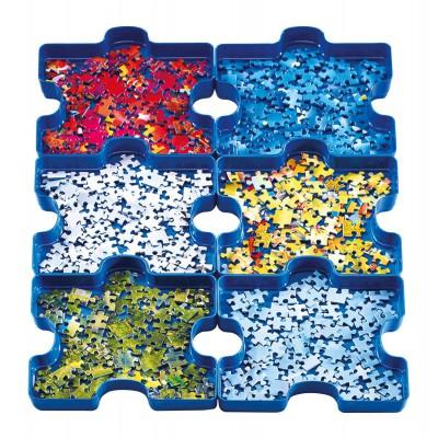 Ravensburger-17934 6 boîtes de tri : Sort Your Puzzle