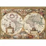 Ravensburger-19004 Carte du monde ancienne
