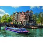 Ravensburger-19138 Pays-Bas, Les canaux d'Amsterdam