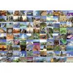 Ravensburger-19371 Les 99 plus beaux endroits de la Terre