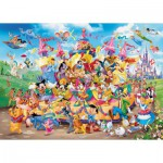 Ravensburger-19383 Disney Carnaval Multicha