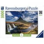 Ravensburger-19539 Nature Edition N°4 : Cascade de Kirkjufell, Islande