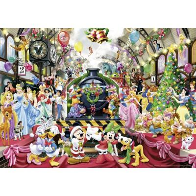 Ravensburger-19553 Disney - Tous à Bord pour Noël