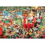 Ravensburger-19558 Les Derniers Préparatifs Du Père Noël