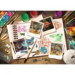 Ravensburger-19603 Disney Pixar: Sketches