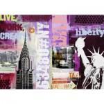 Ravensburger-19613 Collage New York City