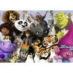 Ravensburger-19693 Famille DreamWorks