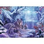 Ravensburger-19704 Loups d'Hiver