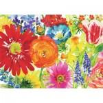 Ravensburger-19729 Fleurs Abondantes