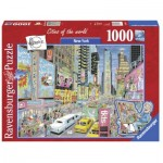 Ravensburger-19732 Cities of the World - New York