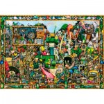 Ravensburger-19760 Colin Thompson - Yesterday's Treasure