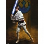 Ravensburger-19776 Star Wars - Luke Skywalker