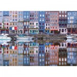 Ravensburger-19867 Reflets sur le Port de Honfleur