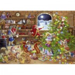 Ravensburger-19882 Countdown to Christmas