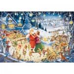 Ravensburger-19893 La Fête du Père Noël