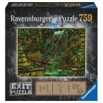 Ravensburger-19951 Exit Puzzle - Tempel in Angkor Wat (en Allemand)
