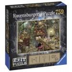 Ravensburger-19952 Exit Puzzle - Hexenküche (en Allemand)
