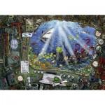 Ravensburger-19953 Exit Puzzle - Exit U-Boot (en Allemand)