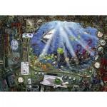 Ravensburger-19959 Escape Puzzle - Sous l'Ean