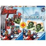 Ravensburger-21193 Avengers 3 Puzzles + Memory