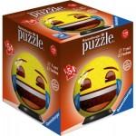 Ravensburger-72060-01 Puzzle 3D - Emoji