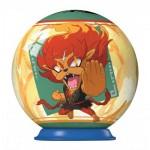 Ravensburger-79936-11922-04 Puzzle Ball 3D - Yo-Kai Watch